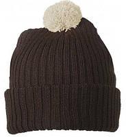 Вязаная шапка с помпоном 7540-4-В1069  Myrtle Beach