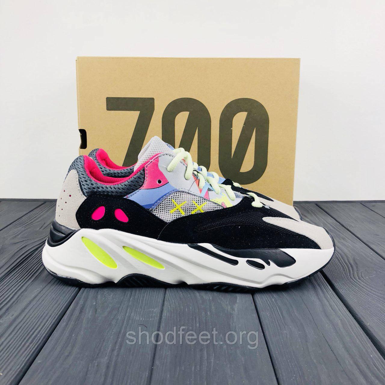 on sale 8bada eecb2 Мужские кроссовки Kaws x Adidas Yeezy Boost 700 Runner