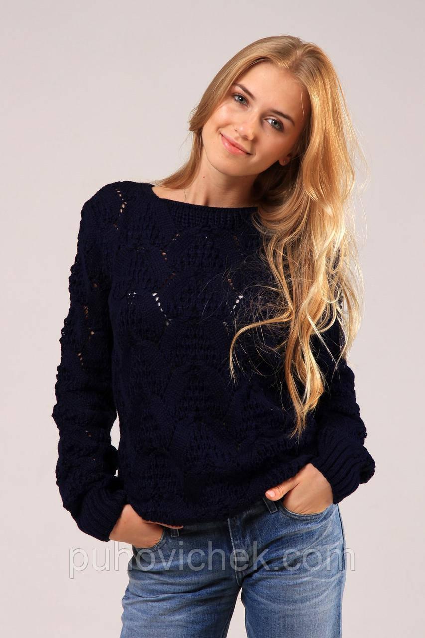Легкий женский свитер молодежный новинка