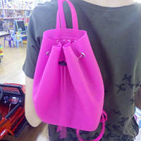 Рюкзак силиконовый Tinto, малиновый