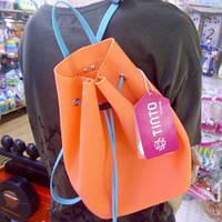 Рюкзак силиконовый Tinto, оранжевый