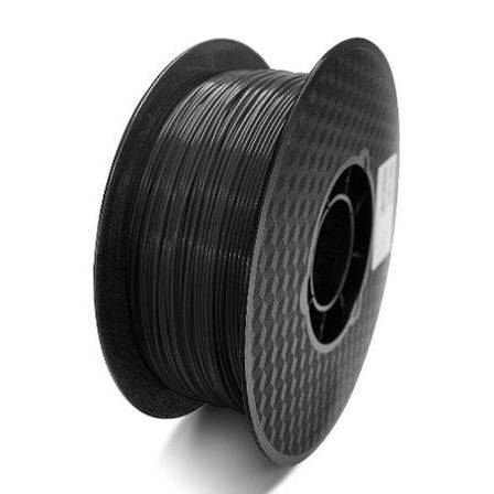 Пластик в котушці PLA Premium black 1,75 мм, Raise3D, чорний 1кг, фото 2