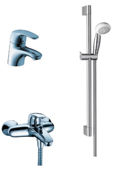 Avista Набор смесителей для ванны, (31708000+31748000+26526400)хром