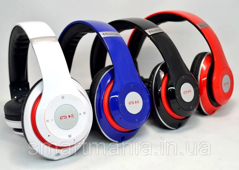 Беспроводные Наушники P-15 WIRELESS HEADPHONE (monster beats solo 2) Bluetooth + MicroSD + FM Радио