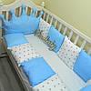 Бортики в детскую кроватку с короной «Корона №8», фото 2