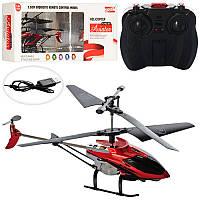 Вертолет на радиоуправлении E2208, р/у, аккум, гироскоп, 19,5см, свет, 3,5 канала, USB зарядное
