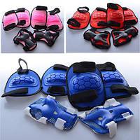 Защита для коленей, локтей, запястий, 3 цвета, в сетке 19*29*9см(50шт)(MS0335)