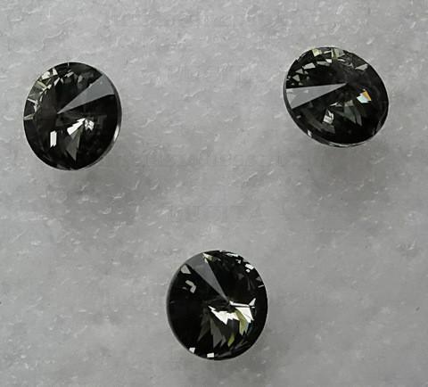 Стразы Swarovski черные ,SS3 (1400 шт)