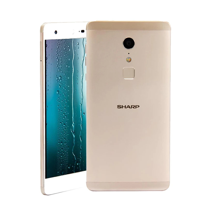 "Смартфон SHARP Z2 Gold 5.5"" 4G 4\32Гб камера 16MP + чехол"