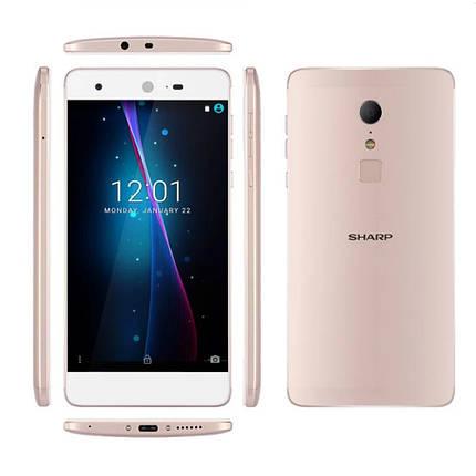 "Смартфон SHARP Z2 Gold 5.5"" 4G 4\32Гб камера 16MP + чехол, фото 2"