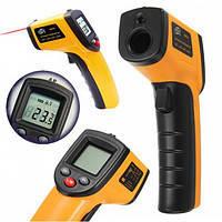 Инфракрасный Бесконтактный Пирометр AR 320 /360+ Промышленный  термометр. Цифровой. Лазерный указатель.