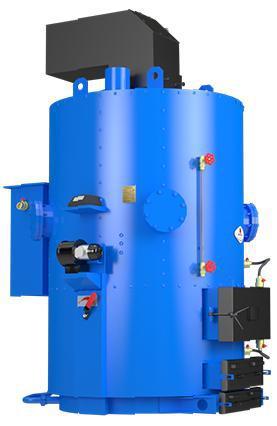Котел для производства пара-Парогенератор IDMAR Wp-120 кВт/200 кг пара в час