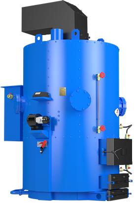 Парогенератор-Котел для производства пара Idmar Wp-500 кВт/800 кг пара в час.