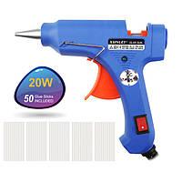 Пистолет для силиконового клея XL-E20, Клей-пистолет, Клеящий пистолет, Пистолет для термоклея.