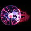 "Ночник Magic Flash Ball Плазменный шар 5""., фото 2"