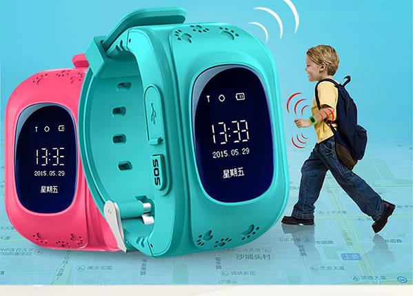 Детские умные часы Q50 с GPS-трекером   SMART BABY WATCH Q50 GPS., фото 2