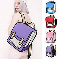Оригинальные 2D рюкзаки, цвета в наличии, фото 1