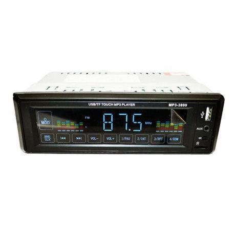Автомагнитола MP3 3899 ISO 1DIN сенсорный дисплей.