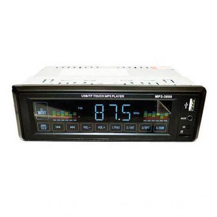 Автомагнитола MP3 3899 ISO 1DIN сенсорный дисплей., фото 2