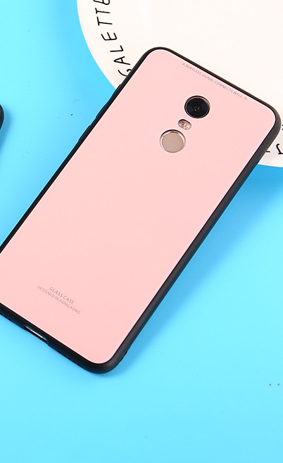 Чехол  для Xiaomi Redmi 5  Plus Glass Case