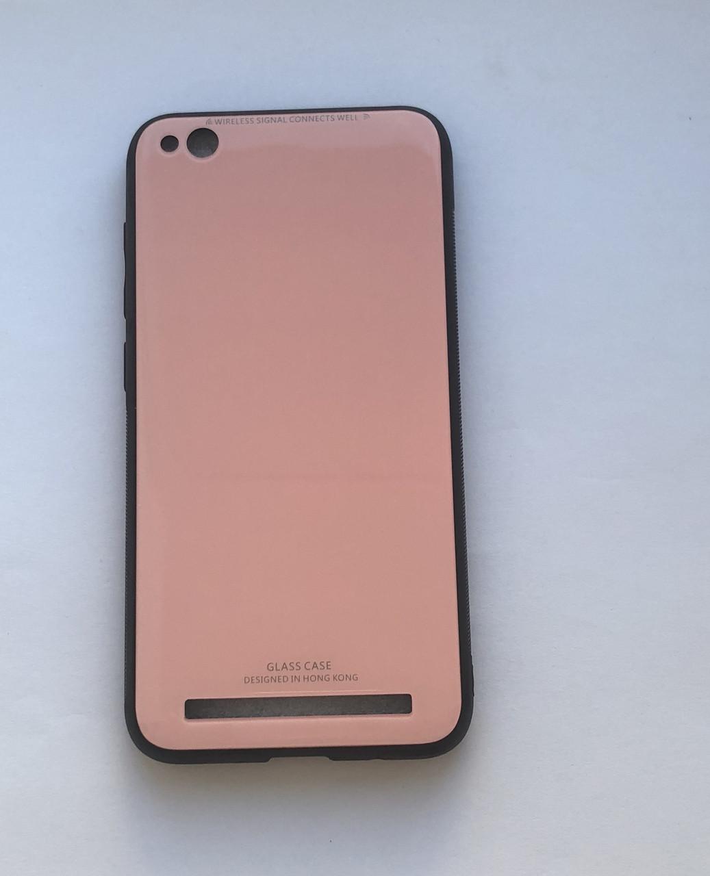 Чехол для Xiaomi Redmi  5A Glass Case