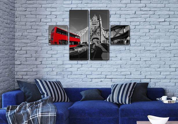 Модульные картины, на ПВХ ткани, 45x80 см, (18x18-2/45х18-2), фото 2