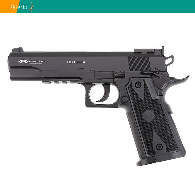 Пневматический пистолет Gletcher CST 304 Colt 1911 Кольт газобаллонный CO2 125 м/с