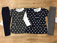 Комплект трійка для дівчаток F&D 1-5 років, фото 1
