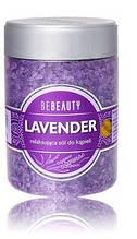Соль для ванны Bebeauty Lavender 600 г