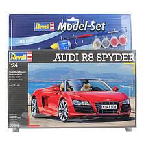 Model Set Автомобиль (2009 г, Германия) Audi R8 Spyder 1:24 10+