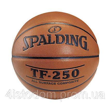 Мяч баскетбольный Spalding TF-250 Synthetic Leather (5), фото 2