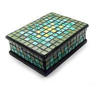 Шкатулка для бижутерии мозаика