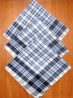 Мужской носовой платок. Размер: 36х36