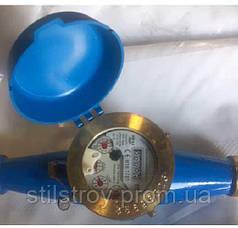 Счетчик воды (водомер) мокроход, тип WM, Ду-20,Py16, Q=2,5 м3/час, для холодной воды муфтовый, PoWoGaz