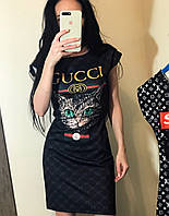 Платье gucci cat