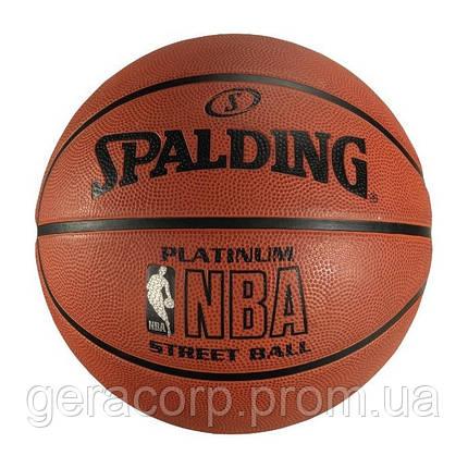 Мяч баскетбольный Spalding Platinum Outdoor, фото 2