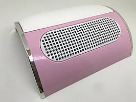 Вытяжка для маникюра Simei 858-5  20Вт Розовая