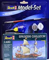 Model Set Испанский галеон (1556 г, Испания) Spanish Galleon 1:450