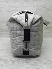 Стёганая женская сумка спортивная, фото 3