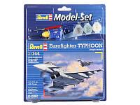 Model Set Многоцелевой истребитель Eurofighter Typhoon (1998 г, Герм/Исп/Великобрит/Италия) 1:144