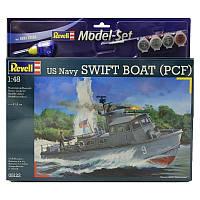 Model Set Патрульный катер US Navy Swift Boat (PCF) 1:48 10+