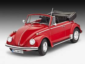 Автомобиль VW Beetle Cabriolet 1970 1:24 10+