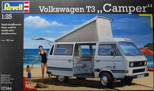 Автомобиль (1982 г, Германия) VW T3 Camper 1:25