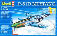 Истребитель (1944 г, США) P-51D Mustang 1:72
