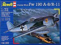 Истребитель-бомбардировщик (1943 г, Германия) Focke Wulf Fw 190 A-8/R11, 1:72