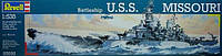 Корабль (1944 г, США) Battleship USS Missouri 1:535