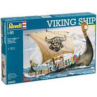 Корабль викингов (800-1000гг, Дания/Швеция/Норвегия) Viking ship, 1:50