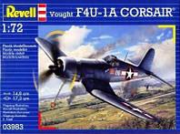 Палубный истребитель F4U-1A Corsair 1:72 10+