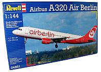 Пассажирский самолет Airbus A320 AirBerlin 1:144
