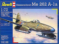 Реактивный истребитель (1944 г, Германия) Me 262 A1a, 1:72